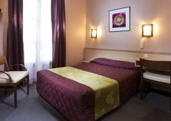 Hotel Flor Rivoli - ปารีส - ห้องนอน