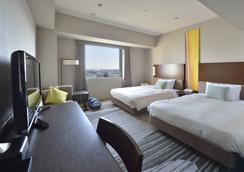 โรงแรมซันรูท ฮิงาชิ อาริอาเกะ - โตเกียว - ห้องนอน