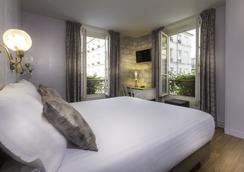 Hôtel Jeanne d'Arc Le Marais - ปารีส - ห้องนอน