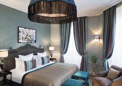 Hotel Le Saint - ปารีส - ห้องนอน