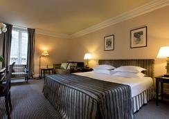 Hotel Villa d'Estrees - ปารีส - ห้องนอน
