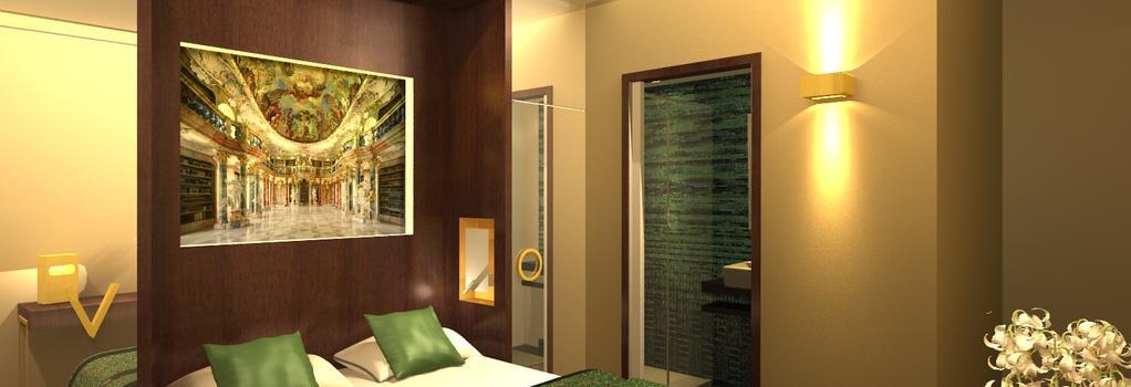 Vendome Opera Hotel - Paris - Bedroom