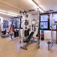 Dumont NYC-an Affinia hotel Fitness Center Strength Equipment