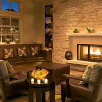 Casa Munras Garden Hotel & Spa Lobby Fireplace