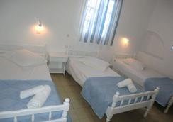 Mykonos Vouniotis Rooms - มิโคนอส - ห้องนอน