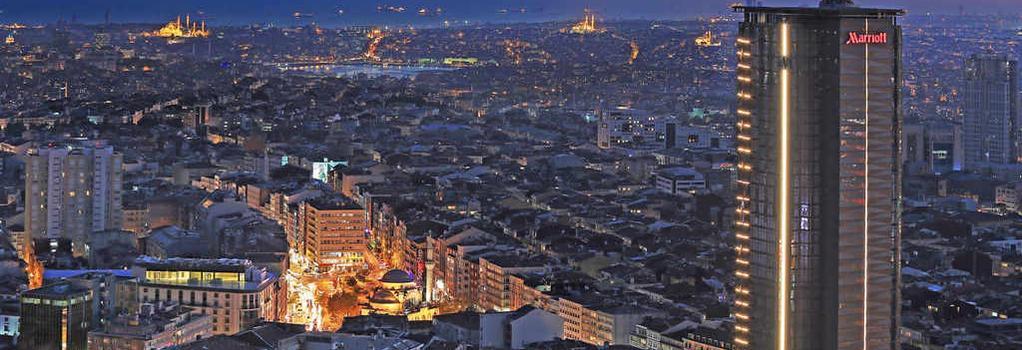 Istanbul Marriott Hotel Sisli - Istanbul - Building
