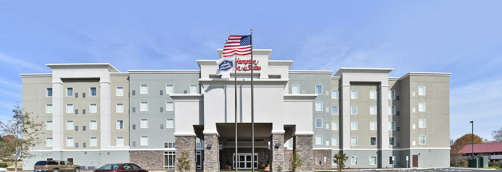 Hampton Inn & Suites Greensboro/Coliseum Area, NC - Greensboro - Building