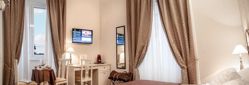Relais de l'Opera - Rome - Bedroom