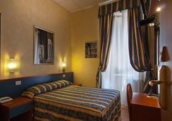 Hotel Julia - โรม - ห้องนอน