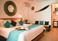 Hotel Casa Ticul - พลาย่า เดล ตาร์เมน - ห้องนอน