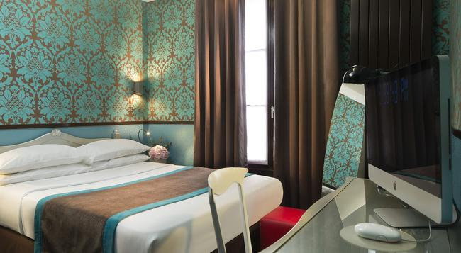 Hotel Design Sorbonne - Paris - Bedroom