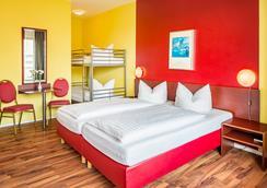 Alecsa Hotel Am Olympiastadion - เบอร์ลิน - ห้องนอน