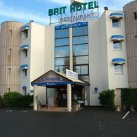 Brit Hotel Angers Parc Expo - L'Acropole Facade de l'hôtel