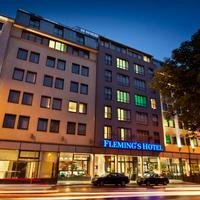 Fleming's Hotel Wien-Westbahnhof Hotel Front - Evening/Night