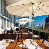 Fleming's Deluxe Hotel Frankfurt-City Outdoor Dining
