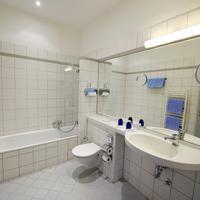 Hotel Riehmers Hofgarten Badezimmer