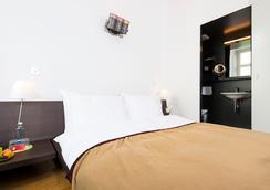 Design Hotel Plattenhof - ซูริค - ห้องนอน