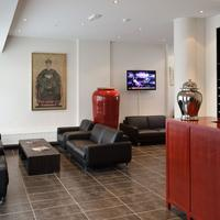 City Center Hotel Lobby Sitting Area