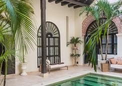 Casa De Alba Hotel Boutique - คาร์ตาจีน่า - สระว่ายน้ำ