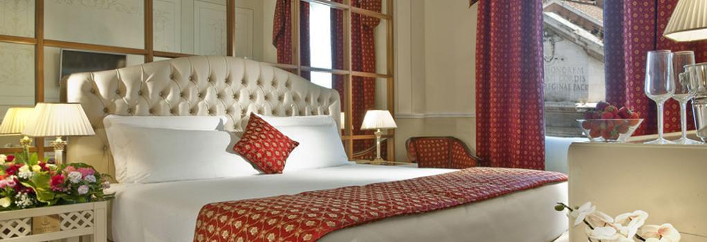 Grand Hotel Ritz - Rome - Bedroom