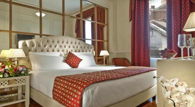Grand Hotel Ritz - Rome - Bedroom