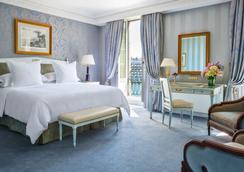 Four Seasons Hotel des Bergues Geneva - เจนีวา - ห้องนอน