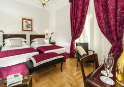 Hotel Nord Nuova Roma - โรม - ห้องนอน